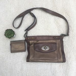 Fossil Cross Body bag with small coin/wallet